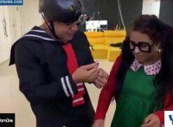 Chaves porno Kiko comendo a Chiquinha
