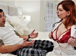 Enfermeira xxx ruivinha linda e gostosa transando com paciente