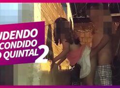 Vídeo porno amador gostosa dando buceta pro vizinho no quintal caiu na net
