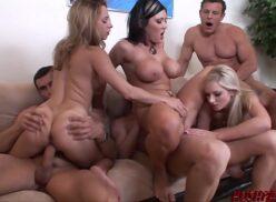 Videos de sexo orgias com várias gostosas